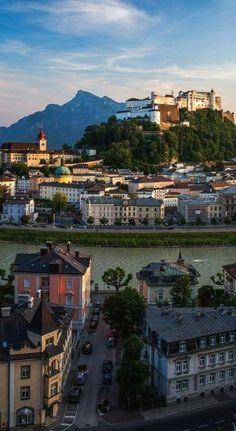 The Salzburg Castle , Austria