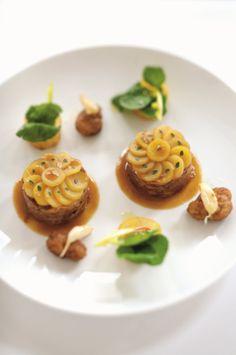 agneau champvallon (Yannick Alleno) #plating #presentation