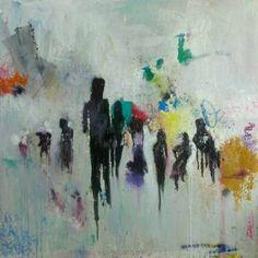 """Saatchi Art Artist Dan March; Painting, """"10 Twenty One"""" #art"""