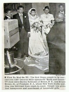 First Black Couple Married on Television.. http://pinterest.com/dorothy5211/sun-glasses/