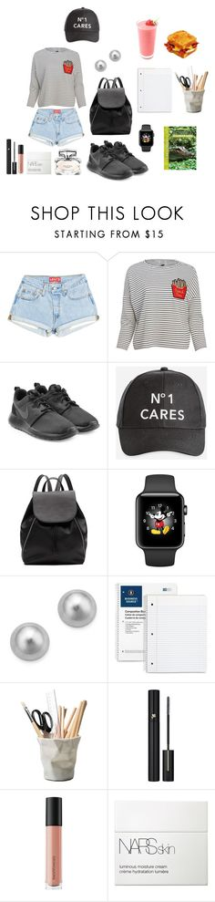 """""""In the Last Days of School 📚"""" by everythingfashion88 ❤ liked on Polyvore featuring Joanie, NIKE, Ashley Stewart, Witchery, Bloomingdale's, ESSEY, Lancôme, Bare Escentuals, NARS Cosmetics and Gucci"""