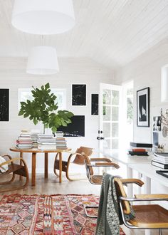 a bright backyard cottage office space   ranch house tour on coco kelley
