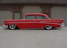1957 Chevy Bel Air Car, 1957 Chevy Bel Air, Chevrolet Bel Air, Classic Trucks, Classic Cars, Chevy Muscle Cars, Trucks And Girls, Peterbilt Trucks, Sweet Cars