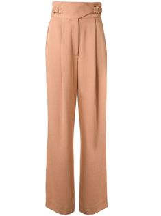 Clay pink drape Interlock trousers from Dion Lee featuring a high waist, a belted waist, side pockets, a straight leg and a long length. Dion Lee, Tailored Trousers, Women Wear, Pajama Pants, Legs, Fashion Design, Outfits, Shopping, Clothes