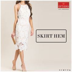 Petite women look best with above-the-knee length hemlines. Shopping Tips, Petite Women, Looking For Women, Mumbai, Style Guides, Hemline, Peplum Dress, Skirts, Dresses