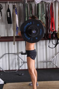 Girls Who Do Crossfit...I do crossfit for the buff muscle factor