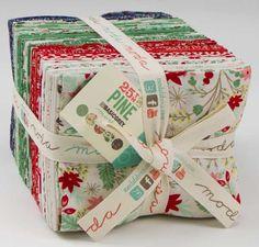 Moda Basicgrey 25th and Pine Christmas Fat Quarters 40 fabrics