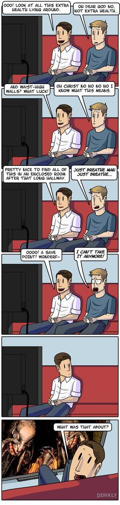 """""""Why You Should Always be Terrified in Video Games"""" #dorkly #geek #videogames"""