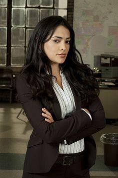 Natalie Martinez as Det. Ariana Sanchez...Detroit 1-8-7