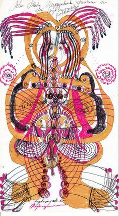 Stellvertretend steht innerhalb dieser Pinnwand eine Arbeit für die Arbeiten des indonesischen Künstlers Angkasapura (Von seinen Arbeiten gibt es eine eigene Pinnwand und die Arbeiten aus meiner eigenen Sammlung sind zu sehen auf www.aussenseiterkusnt.ch)