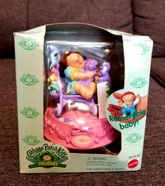 """Up for sale is a Cabbage Patch Kids Figurine '95 """"Lindsay Beth"""" See pictures for overall conditions! As Always, shipping is free! Don't hesitate to ask questions! The item in the picture is the one you will get! Brand New! Offers are welcome! Pound Puppies, Cabbage Patch Kids Dolls, Lunch Box, Children, Pictures, Baby, Free, Young Children, Photos"""