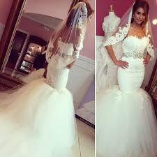 Peinados para vestidos de novia estilo sirena