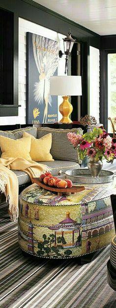 black, charcoal gray and mustard yellow living room Decor, Decor Design, Eclectic Decor, Yellow Home Decor, Beautiful Interiors, House Interior, Interior Design, Luxury Interior, Furnishings