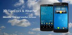 Flip 3D Clock & Word Weather v2.10.09 (Mod Ad-Free)  Lunes 12 de Octubre 2015.By : Yomar Gonzalez ( Androidfast )   Flip 3D Clock & Word Weather v2.10.09 (Mod Ad-Free) Requisitos: 2.3  Descripción: Reloj Flip 3D y widget del clima mundial es un widget de reloj digital y el pronóstico del tiempo ofrecido 4x2 o 5x2 de tamaño totalmente personalizable completa Descripción El widget de cuenta lo siguiente: - 2 tamaños de widgets; 4x2 y 5x2 - Varias pieles de widgets para elegir - Diferentes…