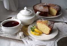 With a Grateful Prayer and a Thankful Heart: TWD ~ Coconut (Lemon) Tea Cake