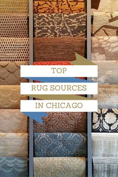 Top Rug Sources in Chicago - Though beautiful rugs are available at many of our favorite sources in Chicago, some sources specialize in these decorative items specifically. We featured our favorite picks in the area -- use this guide the next time you're looking for a high-quality rug to finish a space!   #rug #decor #interiordesign #homedecor