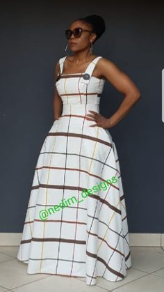 Maxi dresses @nedim_designs  +27829652653 Best African Dresses, African Traditional Dresses, Latest African Fashion Dresses, African Print Dresses, African Print Fashion, African Attire, Look Fashion, Fashion Outfits, Shweshwe Dresses