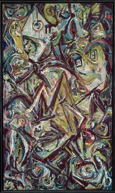 Troubled Queen 1945 Jackson Pollock (American, 1912–1956)