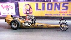 """Lions Drag Strip """"Run What You Brung""""     Nick cackled this car at the NHRA reunion in Oct 2011."""