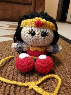 Little Crochet Wonder Woman