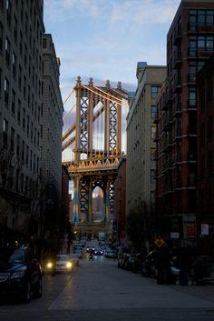 Manhattan Bridge - New York City - New York - USA (von Zur@imiAbro@d)