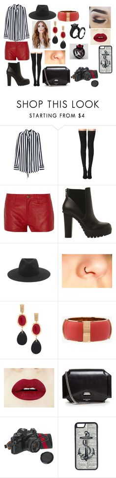 """""""Untitled #72"""" by kora-muffin on Polyvore featuring Mulberry, Tamara Mellon, Current/Elliott, Steve Madden, rag & bone, Chico's, Chloé, Givenchy, American Eagle Outfitters and CellPowerCases"""