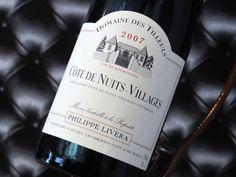 Côte De Nuits Villages 2007 Domaine Des Tilleuls. Vin rouge de Bourgogne  #wine  #winelover
