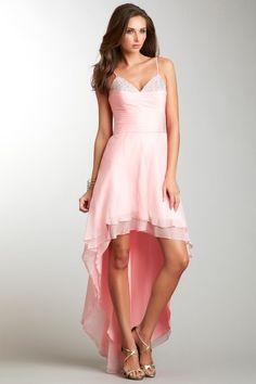 Beaded Hi-Lo Gown by La Femme on @HauteLook