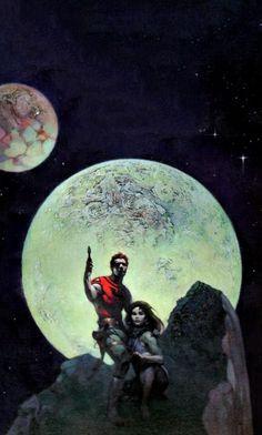 Frank Frazetta - Danger Planet