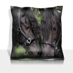 Animals Horses Lovers Talking about Dinner 100% Polyester filled Comfort Square Pillows Customized Made to Order Support Ready Premium Deluxe 17 1/2 Inch X 17 1/2 Inch Graphic Background Covers Designed Color Definition Quality Simplex Knit Fabric Soft Wrinkle Free Couch Accessories Cushions MSD Square Comfort Pillow http://www.amazon.com/dp/B00JRIP3C6/ref=cm_sw_r_pi_dp_FCgIub1X7H467
