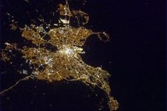 Photo of the Week 14th April 2013 - This weeks photo is an spectacular photo of Dublin….. taken from Space! Canadian astronaut Chris Hadfield aboard the ISS regularly treats us to some stunning photographs of Mother Earth. And lucky for us, Ireland seems to be one of his favourite clicks.  www.emeraldinteriordesign.ie/blog