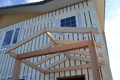 Owner Building a Home: The Momplex   Framing Gable Roofs