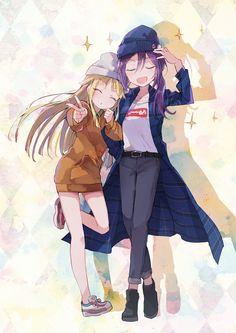 Pretty Anime Girl, Anime Art Girl, Anime Girls, The Kingdom Of Magic, Miss Kobayashi's Dragon Maid, Dream Party, Comics Girls, Kokoro, Girl Bands