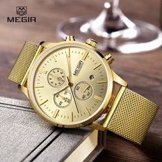 $23.90 (Buy here: https://alitems.com/g/1e8d114494ebda23ff8b16525dc3e8/?i=5&ulp=https%3A%2F%2Fwww.aliexpress.com%2Fitem%2FMEGIR-fashion-men-s-business-quartz-watches-casual-stainless-steel-mesh-band-wristwatch-man-luminous-dress%2F32734667596.html ) MEGIR fashion men's business quartz watches casual stainless steel mesh band wristwatch man luminous dress watch for male 2011G for just $23.90
