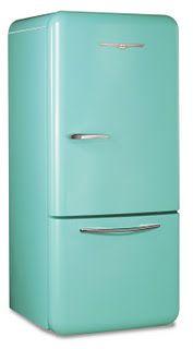 Retro fridge!