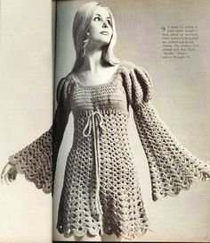Crochet Pattern-------------- AMAZING JULIET DRESS---------- Poetic Beauty