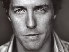 Hugh Grant. He has somewhat unusual features--his eyes mostly--and that's why he gets a spot on my board. :)