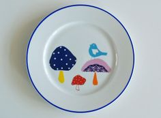 Mushrooms plate #1