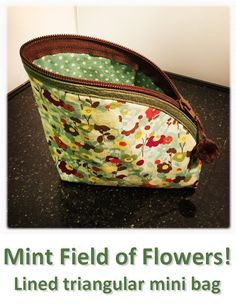 Mint Field of Flowers! Mini Bag, Coin Purse, Mint, Wallet, Purses, Flowers, Bags, Collection, Jewelry