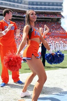 A look back at our 45 favorite cheerleaders from the 2016 college football season. They can cheer for us anytime!… A look back at our 45 favorite cheerleaders from the 2016 college football season. They can cheer for us anytime! Hottest Nfl Cheerleaders, College Cheerleading, Cheerleading Pictures, Cheerleading Uniforms, Football Cheerleaders, Cheerleader Images, Cheerleader Halloween, Navy Football, Cheerleading Hair