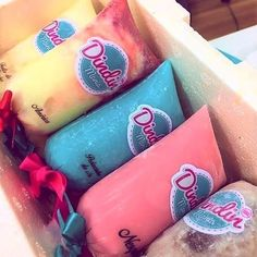Ice Candy, Candy Party, Gelato, Food Business Ideas, Fruit Popsicles, Candy Packaging, Frozen Yoghurt, Love Ice Cream, Food Packaging Design
