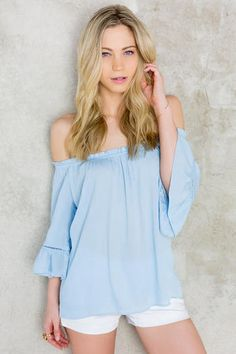 Meadow Off-The-Shoulder Blouse