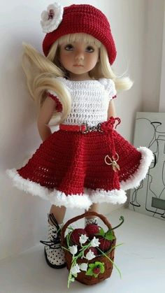 Crochet Dolls Clothes free crochet patterns for american girl doll clothes - Yahoo Image Search Results - American Girl Outfits, American Doll Clothes, Ag Doll Clothes, Doll Clothes Patterns, American Dolls, Doll Patterns, Crochet Doll Dress, Crochet Doll Clothes, Crochet Doll Pattern