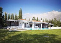 Porto Heli villas on Behance
