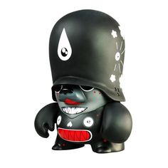 "DALEK 10"" Black Teddy Trooper #dalek #teddytrooper #adfunture #fatsuma #fatsumatoys #designertoy #vinyltoy"