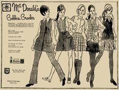 We had a McDonald's store in Fairbury.  Mother purchased Bobbie Brooks clothes for me at the start of the school years.  They were very well made.