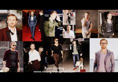 Ryan Gosling style collage. more in mvbrg.wordpress.com