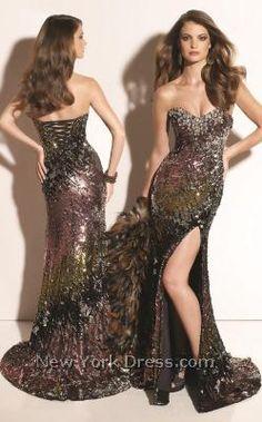 Mardi gras style prom dresses