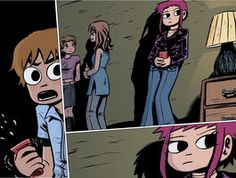 "Bryan Lee O'Malley releasing ""Scott Pilgrim"" in color!"