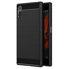 awesome Funda Sony Xperia XZ / Sony Xperia XZs, AICEK Negro Silicona Fundas para Xperia XZ / Xperia XZs Carcasa Sony XZ / Sony XZss Fibra de Carbono Funda Case